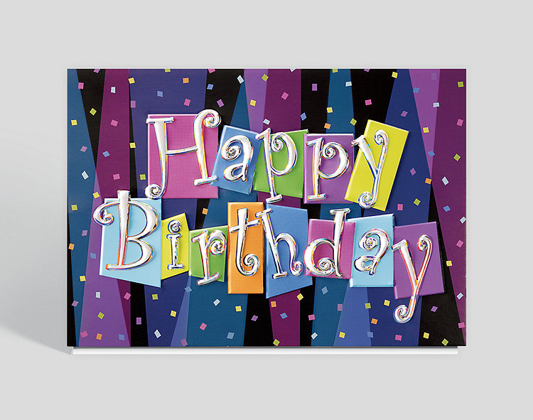 Personal and business birthday cards website exclusives business birthday blast card bookmarktalkfo Choice Image