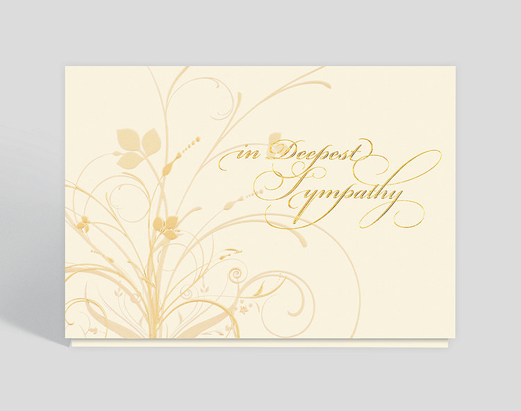 graceful expression sympathy card click to view larger - Sympathy Cards