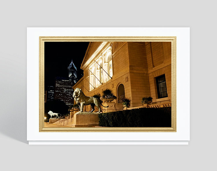 art institute of chicago christmas card click to view larger - Art Christmas Cards