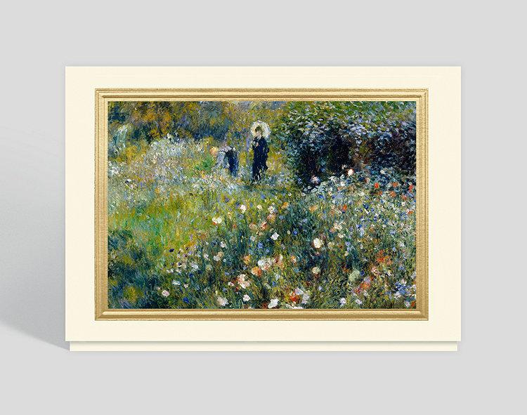 Summer Landscape, 1875 Greeting Card