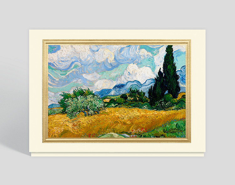 Summer landscape greeting card 300916 business christmas cards summer landscape greeting card click to view larger m4hsunfo