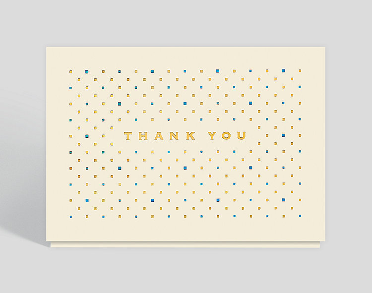 Sophisticated Thank You Card