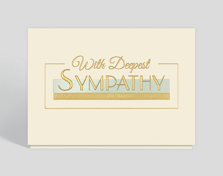 Corporate sympathy card 303400 business christmas cards corporate sympathy card click to view larger colourmoves