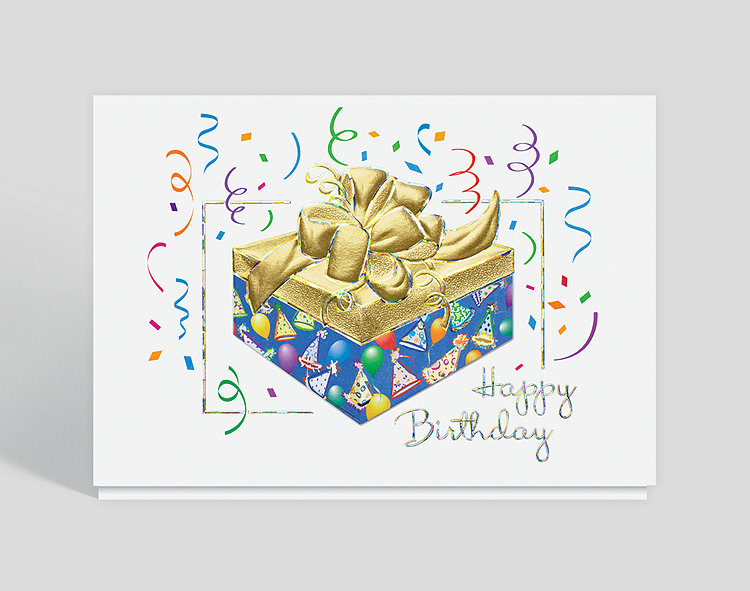 Box of fun birthday card 303476 business christmas cards box of fun birthday card click to view larger reheart Images