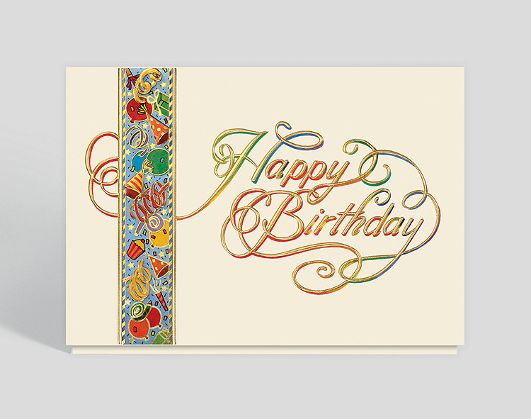 birthday emblem card 303988  the gallery collection