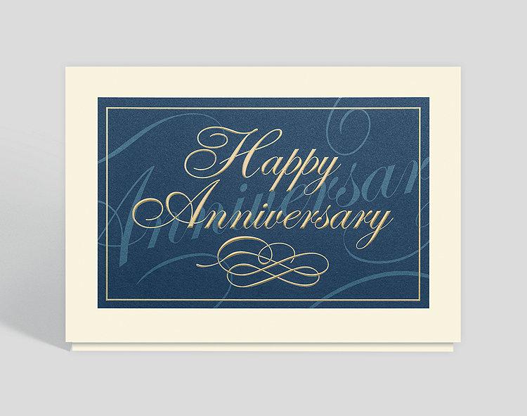 Classically Elegant Anniversary Card
