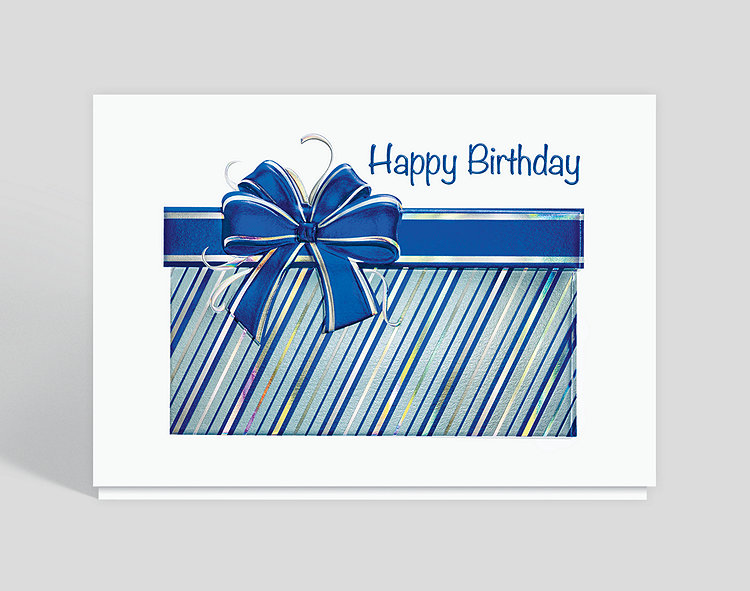 Gleaming Birthday Gift Card