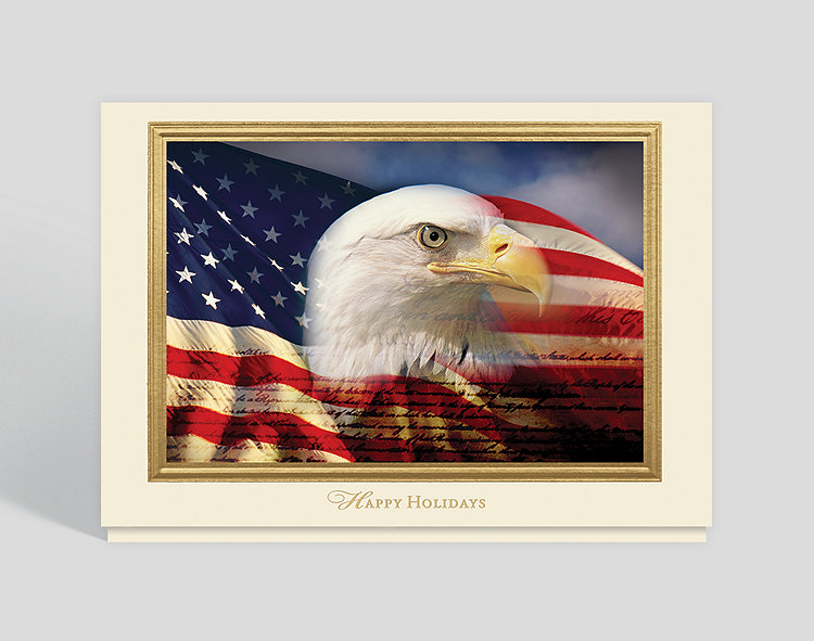 America The Beautiful Holiday Card 305096 Business Christmas Cards
