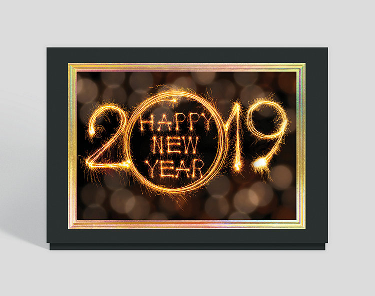 2019 sparkling new year card click to view larger