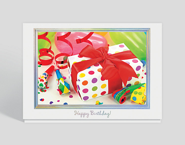 Special Birthday Gift Card Click To View Larger