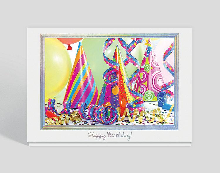Birthday Party Pizazz Card