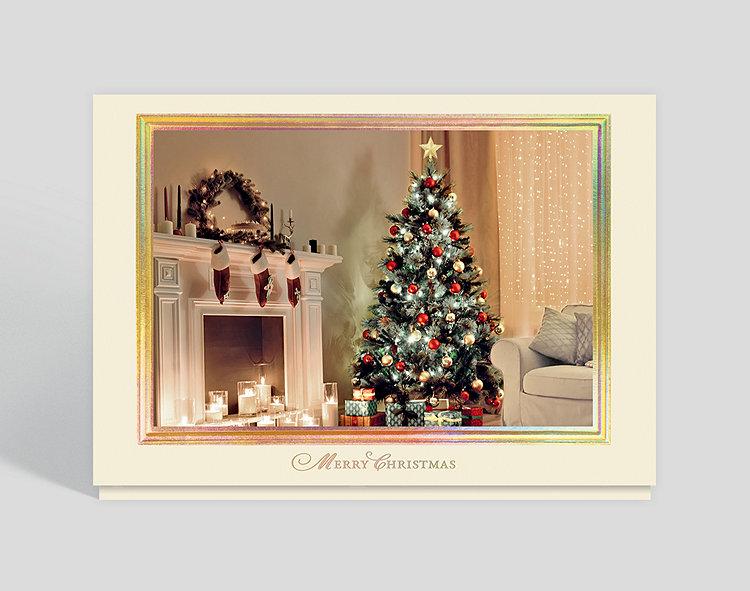 Peaceful Christmas Night Card