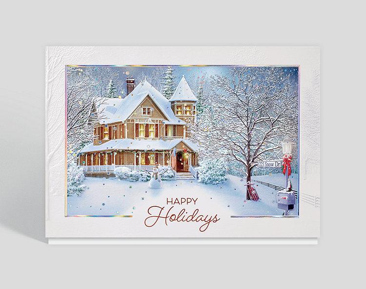 Home Sweet Home Holidays Card