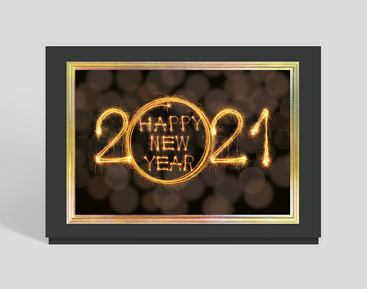2021 Sparkling New Year Card, 306353 | The Gallery Collection