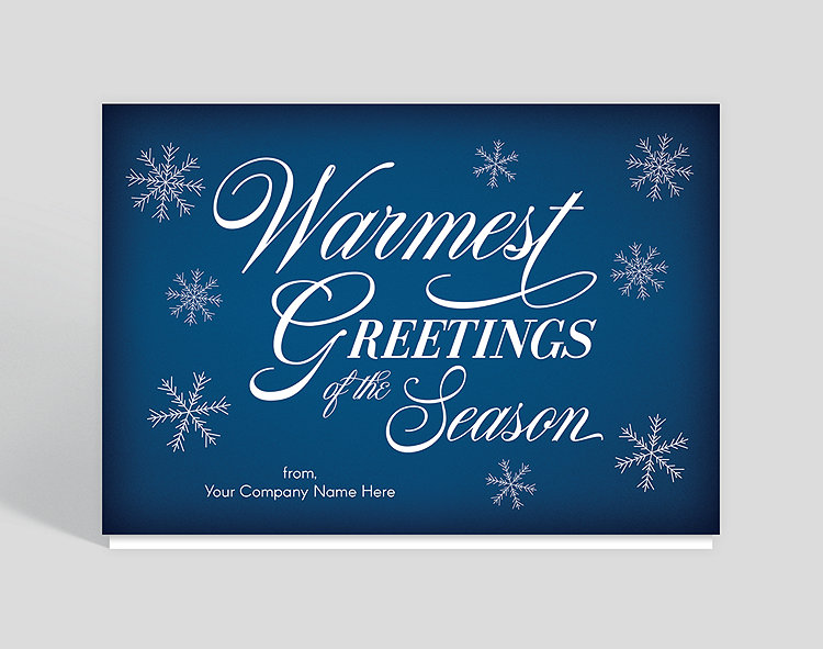 Warmest Greetings Holiday Card – Greeting Cards