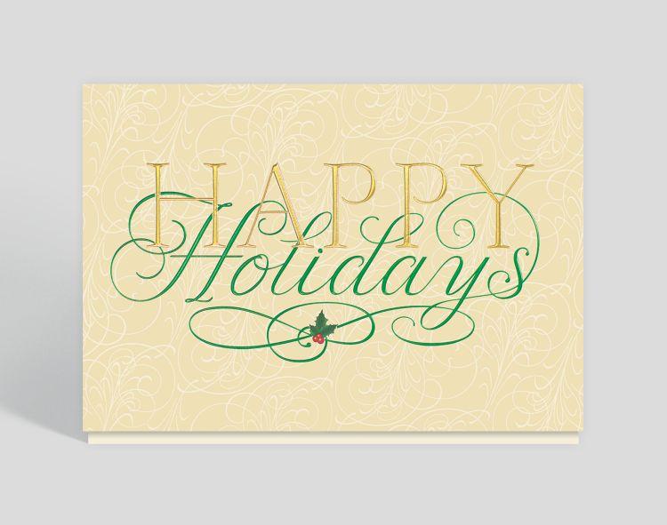 Christmas Card - Simple Christmas Gift