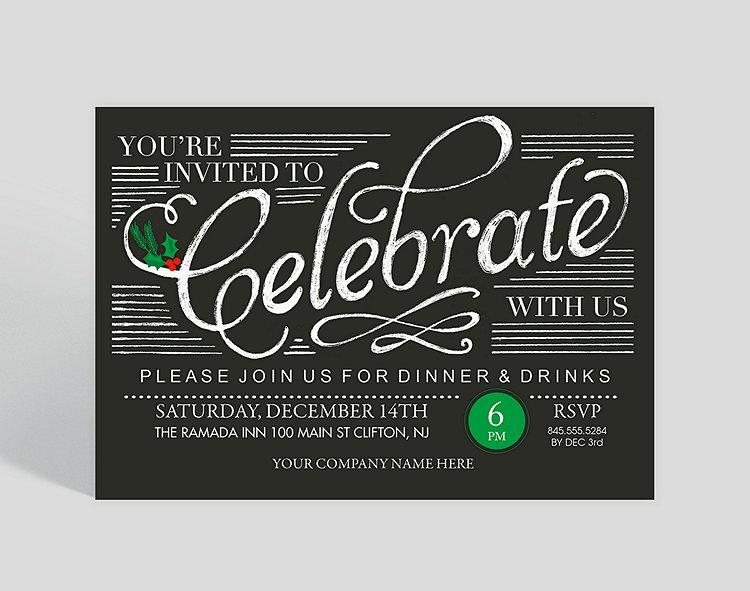 Christmas Save The Date Cards.Save The Date Holiday Party Invitation 1023699 Business Christmas Cards