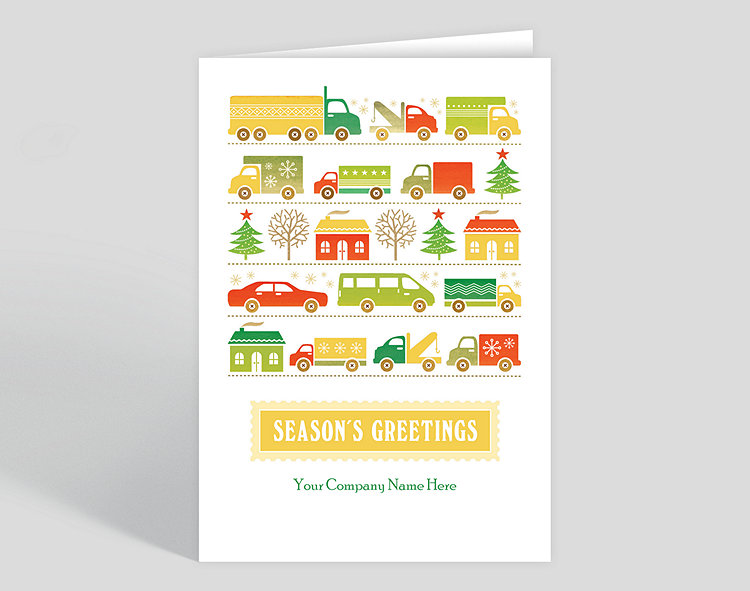 Greetings to go holiday card 1023539 business christmas cards greetings to go holiday card click to view larger m4hsunfo