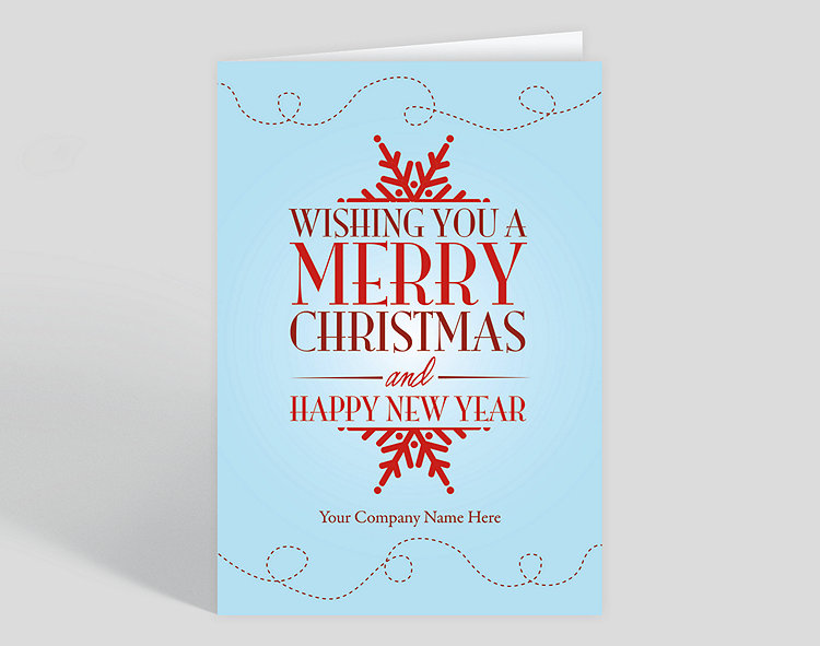 Best wishes holiday card 1023614 business christmas cards best wishes holiday card click to view larger reheart Image collections