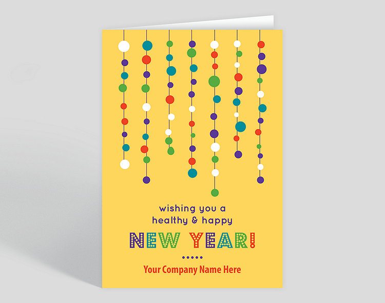 healthy happy new year card click to view larger