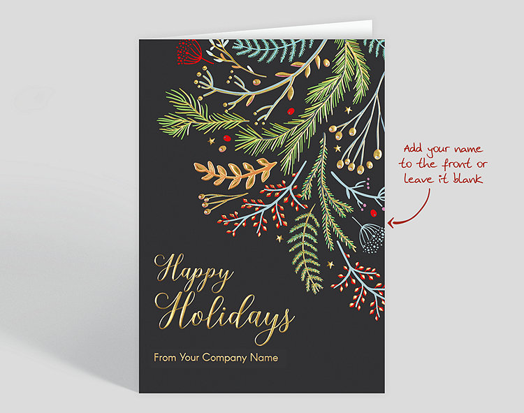whimsical boughs christmas card 1028023 the gallery collection whimsical boughs christmas card 1028023 the gallery collection