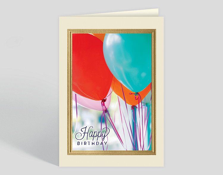 Birthday Balloon Bundle Card Click To View Larger