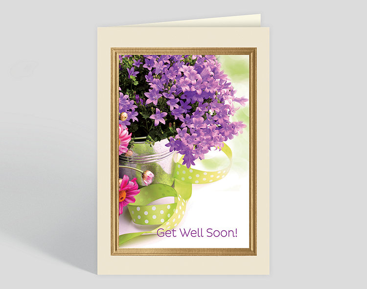 Get Well Blossoms Card