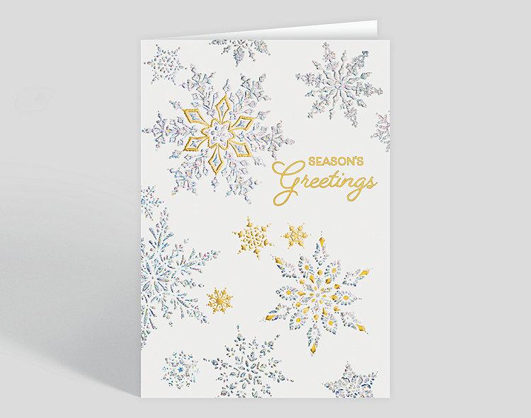 Shimmering Cascade Holiday Card