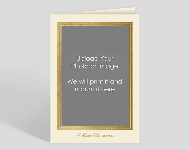 click to view larger - Custom Christmas Cards For Business