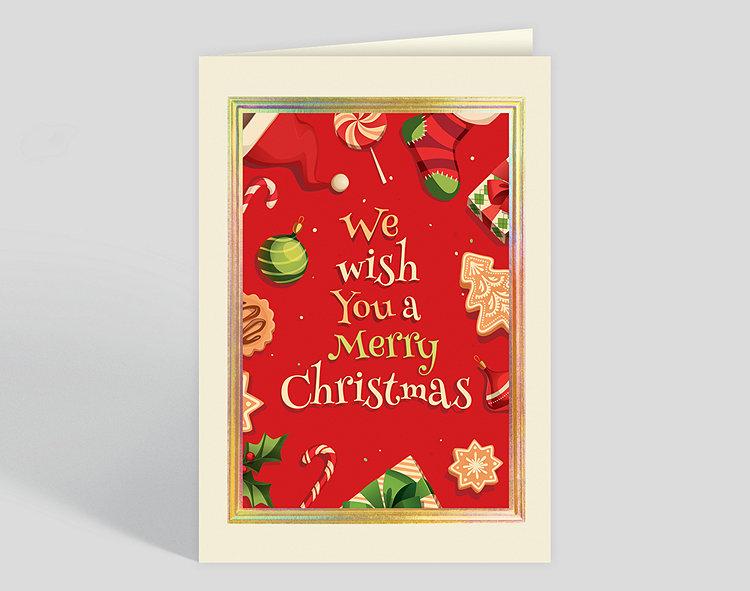 Christmastime Icons Card