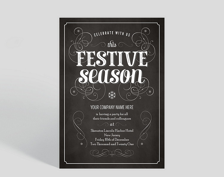 Festive season corporate holiday party invitation 1023692 festive season corporate holiday party invitation click to view larger reheart Gallery