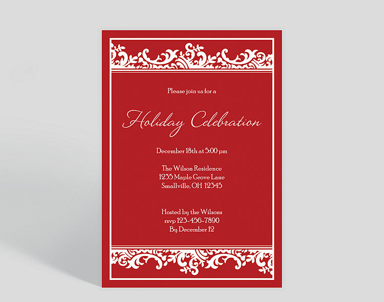 holiday celebration corporate party invitation 1023707 business