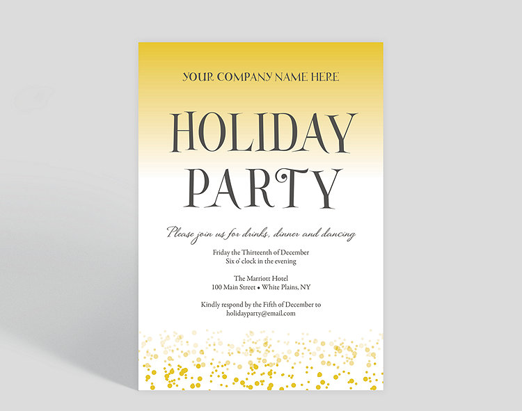 annual gathering corporate party invitation 1023716 business