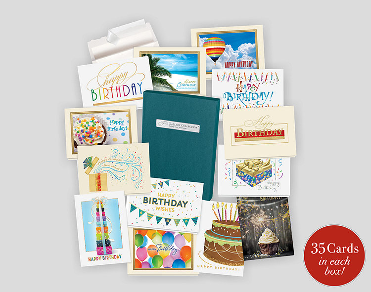 Assortment Boxes Assorted Greeting Cards Business Birthday – Assorted Birthday Cards