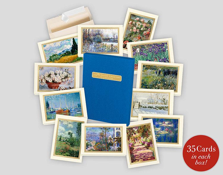 Fine art note card assortment box 701858 business christmas cards fine art note card assortment box reheart Gallery