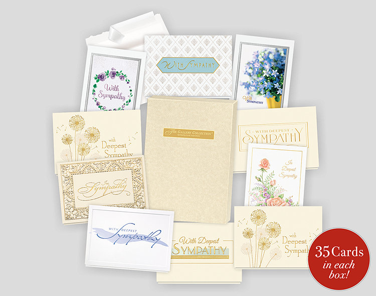 sympathy card assortment box - Deepest Sympathy Card