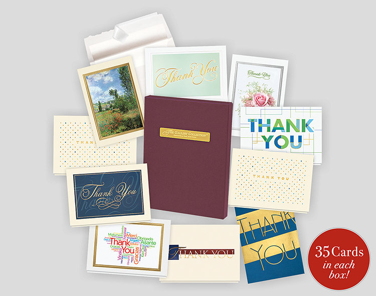 thank you card assortment box 701864 business christmas cards
