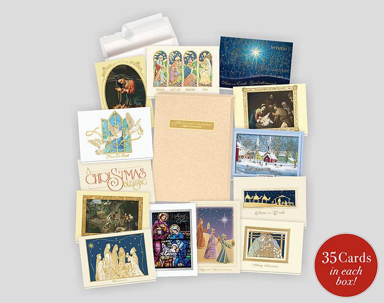 Religious assortment box 1 701868 business christmas cards religious assortment box 1 reheart Gallery
