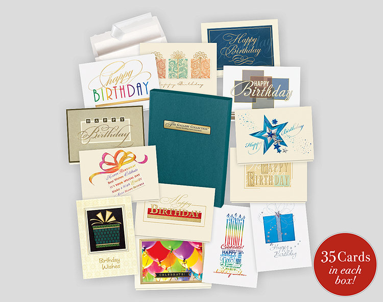 Formal birthday card assortment box 701871 business christmas cards formal birthday card assortment box m4hsunfo