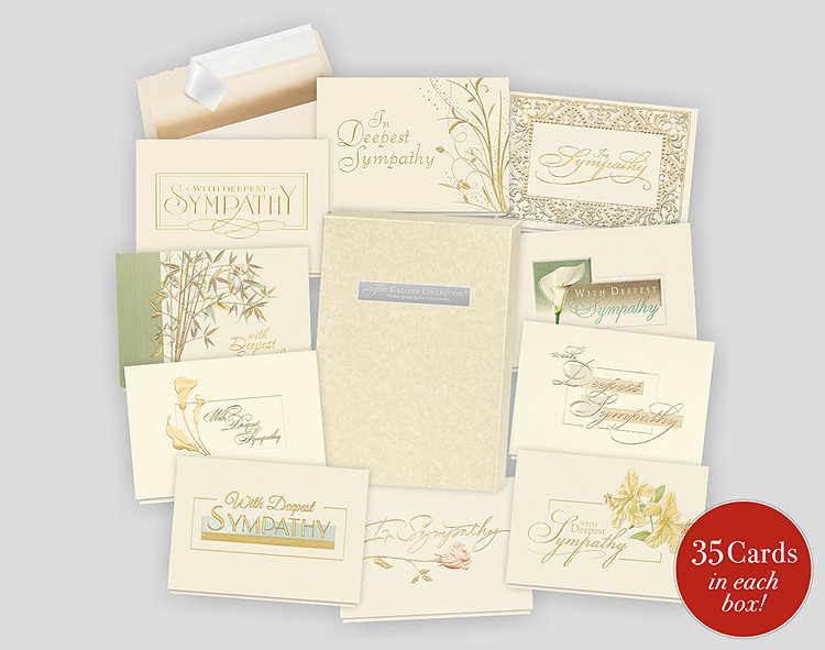 Formal sympathy card assortment box 701873 business christmas cards formal sympathy card assortment box m4hsunfo