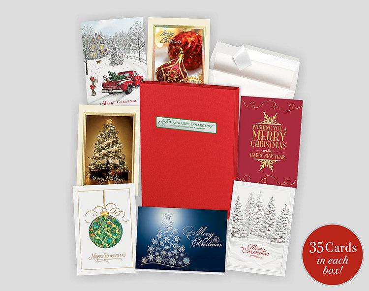Merry christmas assortment box 701874 business christmas cards merry christmas assortment box reheart Gallery