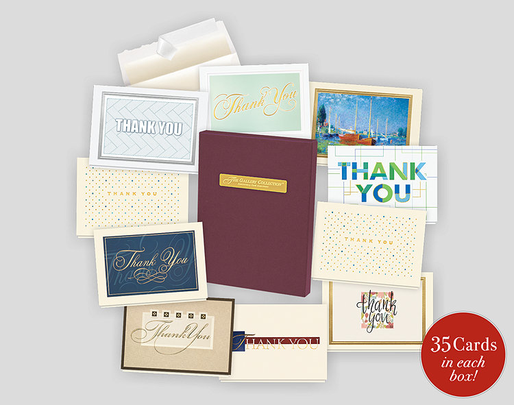 Thank You Card Assortment Box