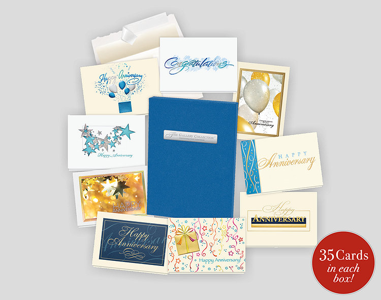2020 Anniversary Card Assortment Box