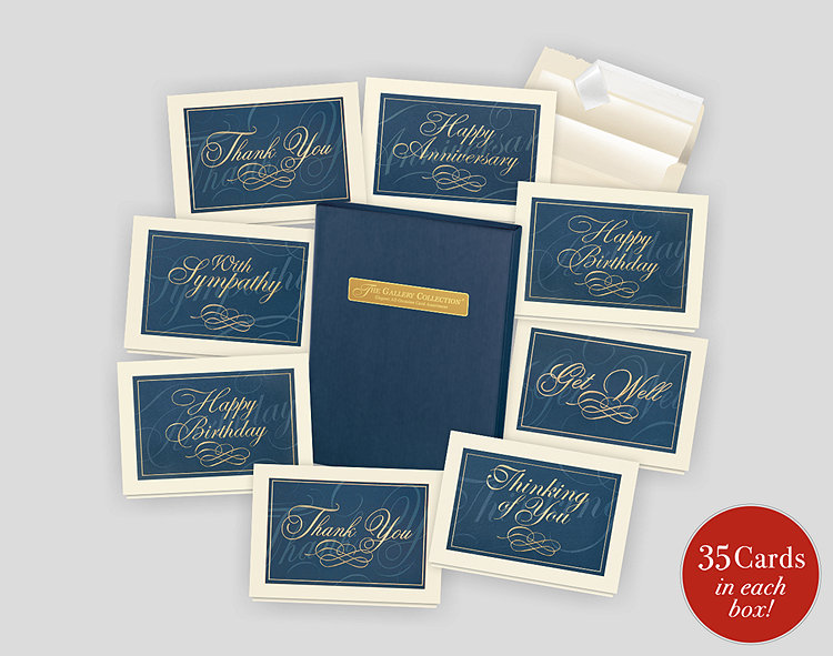 Elegant All-Occasion Card Assortment