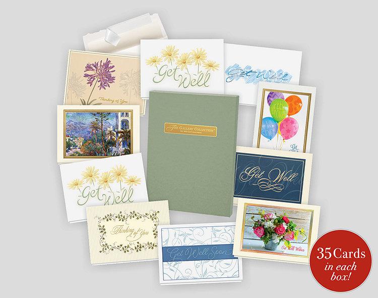 Get Well Card Assortment Box