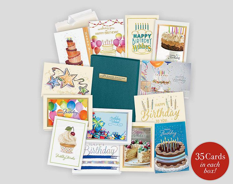 Formal Birthday Card Assortment Box