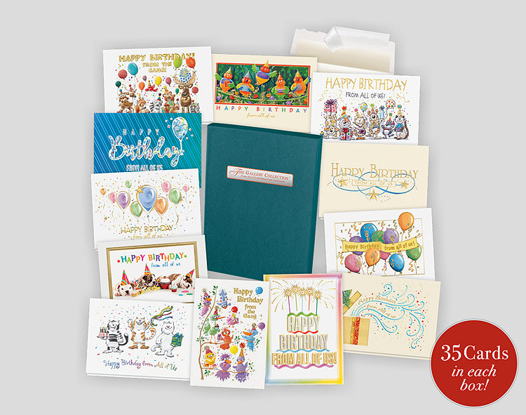 From All of Us Birthday Card Assortment Box