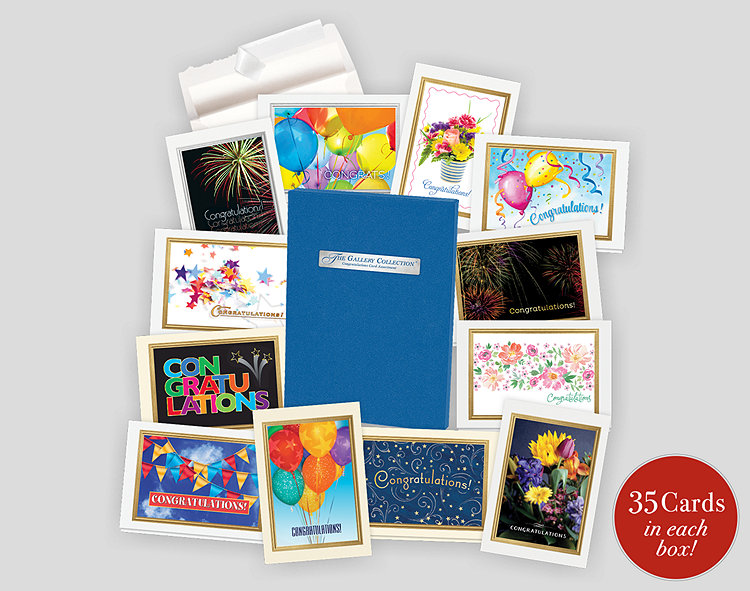 Congratulations Card Assortment Box