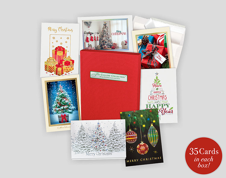 Merry Christmas Assortment Box