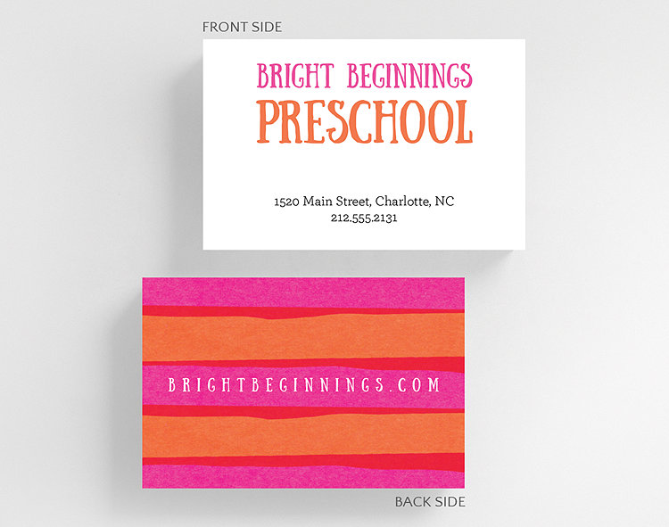 Bright tints business card credit card size 1027541 business click to view larger reheart Choice Image